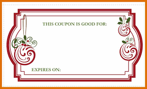Printable Homemade Coupons 7 8 Homemade Coupons Sowtemplate