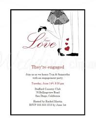 invitation party templates printable true love engagement party invitations template