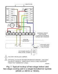 wiring diagram heat pump trane thermostat wiring diagram in color