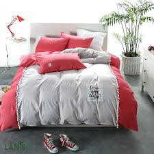 red grey duvet cover red grey patchwork bedding sets new casual duvet cover bed red and grey single duvet cover red grey black duvet covers