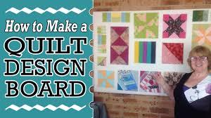How to Make a Quilt Block Design Board - DIY Tutorial - YouTube & How to Make a Quilt Block Design Board - DIY Tutorial Adamdwight.com