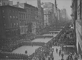 policing urban america in the gilded age essay  police parade new york city 1903