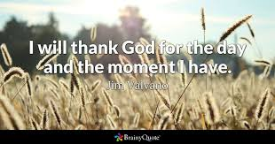 Jim Valvano Quotes 61 Inspiration I Will Thank God For The Day And The Moment I Have Jim Valvano