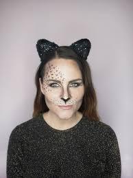 leopard cat makeup