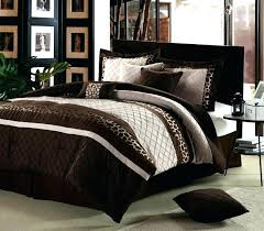 brown bedding sets photo 3 of 6 leopard king size comforter set and teal turquoise aweso