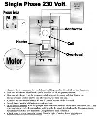circuit diagram for single phase transformer wiring pole contactor copeland compressor connection of motor starter 240v