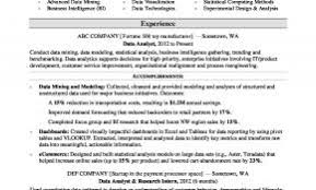 Big 4 Resume Template Luxury Data Analyst Resume Sample At Resume ...