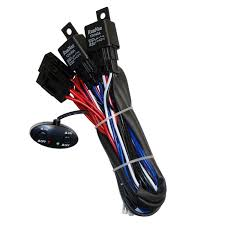 12v 260w dual relay on off car light power switch wiring cable 2x Double Light Switch Wiring at Dual Off Road Light Switch Wiring Diagram