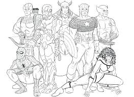 Avengers Coloring Page Avengers Coloring Pages Avengers Infinity War