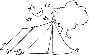 Small Picture Free Camping Coloring Pages