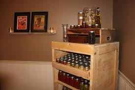 furniture made out of pallets. VIEW IN GALLERY Canning Pantry Cupboard Built From Pallets Furniture Made Out Of