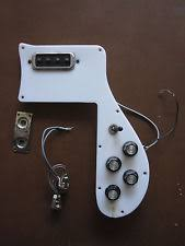 rickenbacker vintage bass guitars complete 1974 1975 rickenbacker 4001 pickguard assembly wiring harness pickups