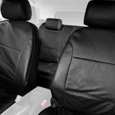 halfords advanced leather look car seat protectors covers full set black