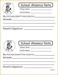 Absent Notes For School Templates Filename – Dastuur Keenna