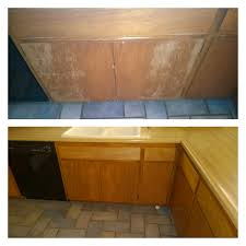 Kitchen Cabinets Springfield Mo Painting Stained Kitchen Cabinets Pertaining To Awesome How To