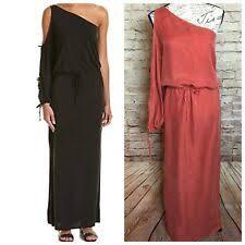 Orange Maxi <b>Cold Shoulder</b> Sleeve Dresses for Women | eBay