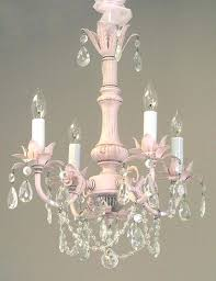 shabby chic chandelier candle white