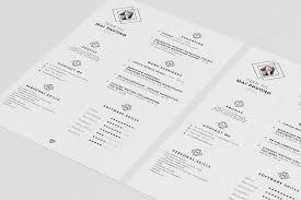 clean resume cv design template psd file good resume clean resume cv design template psd file