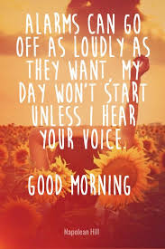 Love Quotes To Say Good Morning
