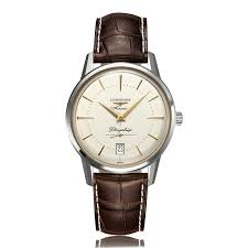 mens dress watches the watch gallery longines flagship heritage stainless steel automatic mens watch l47954782
