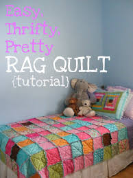 The Complete Guide to Imperfect Homemaking: Easy, Thrifty, Pretty ... & Easy, Thrifty, Pretty Rag Quilt {Tutorial} Adamdwight.com
