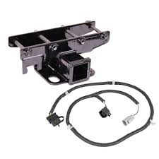 rugged ridge 11580 51 receiver hitch kit with wiring harness, 07 15 wiring harness for trailer diagram 360 trailer hitch kit, wiring harness; 07 18 jeep wrangler jk