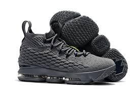 lebron new shoes 2017. 2017 nike lebron 15 \u201cwolf grey\u201dshoes for men lebron new shoes