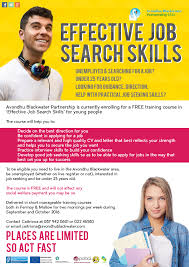 good job skills effective job skills search training
