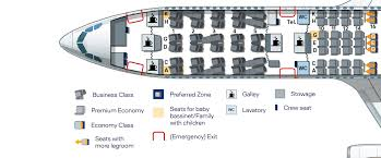 Airbus A340 Jet Seating Chart Airbus A340 300