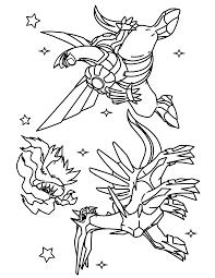 Pokemon Kleurplaten Groudon Kyogre Rayquaza Pokemon Coloring Pages