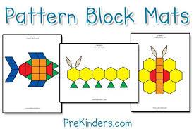 Pattern Block Worksheets
