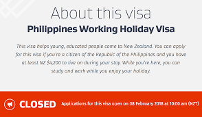 Working Holiday Visa In New Zealand For Filipinos Flipping Choices