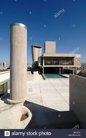 Toit Terrasse De La Cité Radieuse Ou Unité Dhabitation Immeuble De