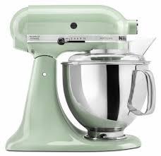 kitchenaid mixer colors. a kitchenaid mixer pistachio color. lovely light green shade. colors