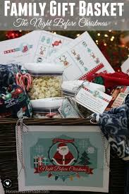 Create memories with this meaningful gift basket! The Night Before Christmas  Gift Basket will be loved by the whole family! Reindeer Food, Snowman Soup,  ...