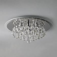 lighting design ideas flush mount crystal ceiling lights fan