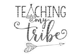Available in png and vector. Teaching My Tribe Teacher Teacher Svg School Svg Files Dx 32228 Svgs Design Bundles