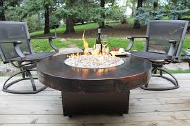 beautiful gas fire pit patio set with round coffee table round propane fire pit table and
