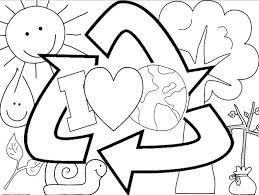 Small Picture Earth Day coloring sheet FREEBIE Elementary Science