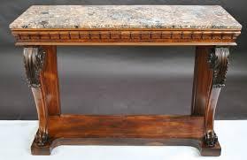 antique console table. Antique Console Table With Mirror