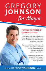 Campaign For Mayor Flyer Template