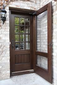 front door screensCustom black walnut door  Doors Screens and Front doors