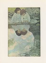 Image result for children looking at their reflections in a pool