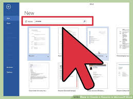 Create A Resume In Microsoft Word Website Photo Gallery Examples How