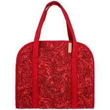 Paisley Bag Designer Donna Sharp Roomy Colorful Hartford Paisley Tote Bag Ladies