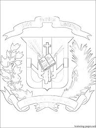 Dominican Republic Coloring Pages Republic Coloring Pages S S S S