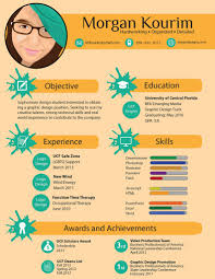 Infographic Resume Examples Morgan Kourim Flickr 92