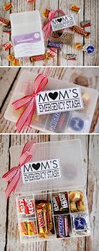 mom s emergency stash simply fill a conner with special treats that your mom likes