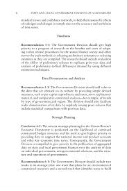 executive summary state and local government statistics at a page 6