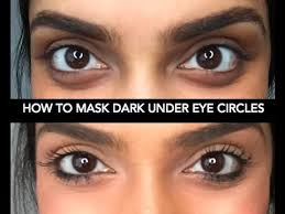great secret to use red lipstick or one with red tones under eyes to conceal dark circles of course you put concealer over it but wow it works